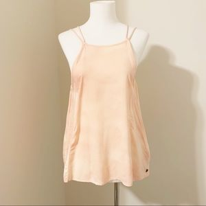 ROXY Cotton Candy Peach Sky Tank Strappy Tank XS